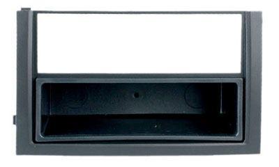 autoradio inbouwframe inbouwraam 1 din skoda fabia i 04. Black Bedroom Furniture Sets. Home Design Ideas