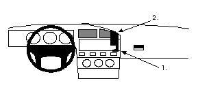 Index likewise P3584 Brodit Proclip 851811 Volkswagen Corrado 89 93 For Europe in addition  on corrado dashboard